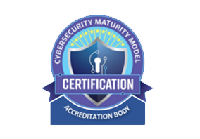Cyber Security Maturity Model Certification logo